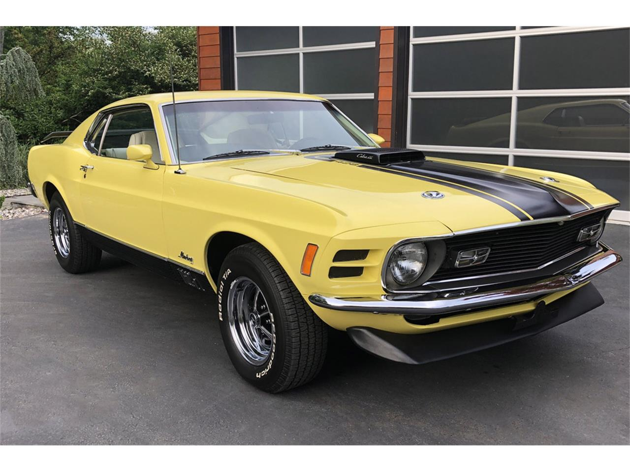 Large Picture of '70 Mustang Mach 1 Offered by Barrett-Jackson - QDQS