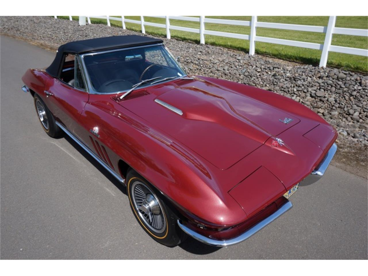 Large Picture of '66 Chevrolet Corvette located in Sparks Nevada Auction Vehicle Offered by Motorsport Auction Group - QJUW