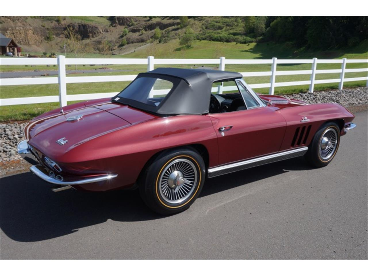 Large Picture of '66 Chevrolet Corvette Auction Vehicle Offered by Motorsport Auction Group - QJUW