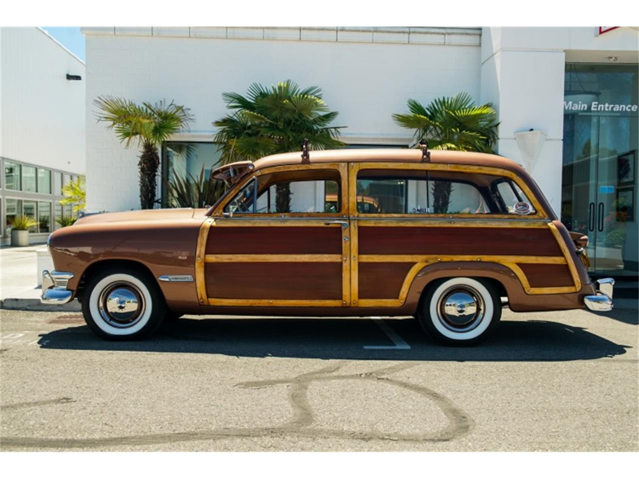 Large Picture of Classic '50 Ford Woody Wagon located in Nevada Auction Vehicle Offered by Motorsport Auction Group - QJVC