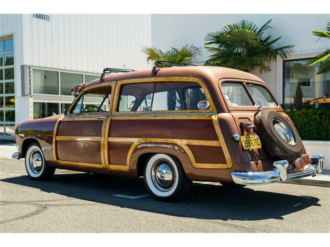 Large Picture of Classic '50 Ford Woody Wagon Offered by Motorsport Auction Group - QJVC