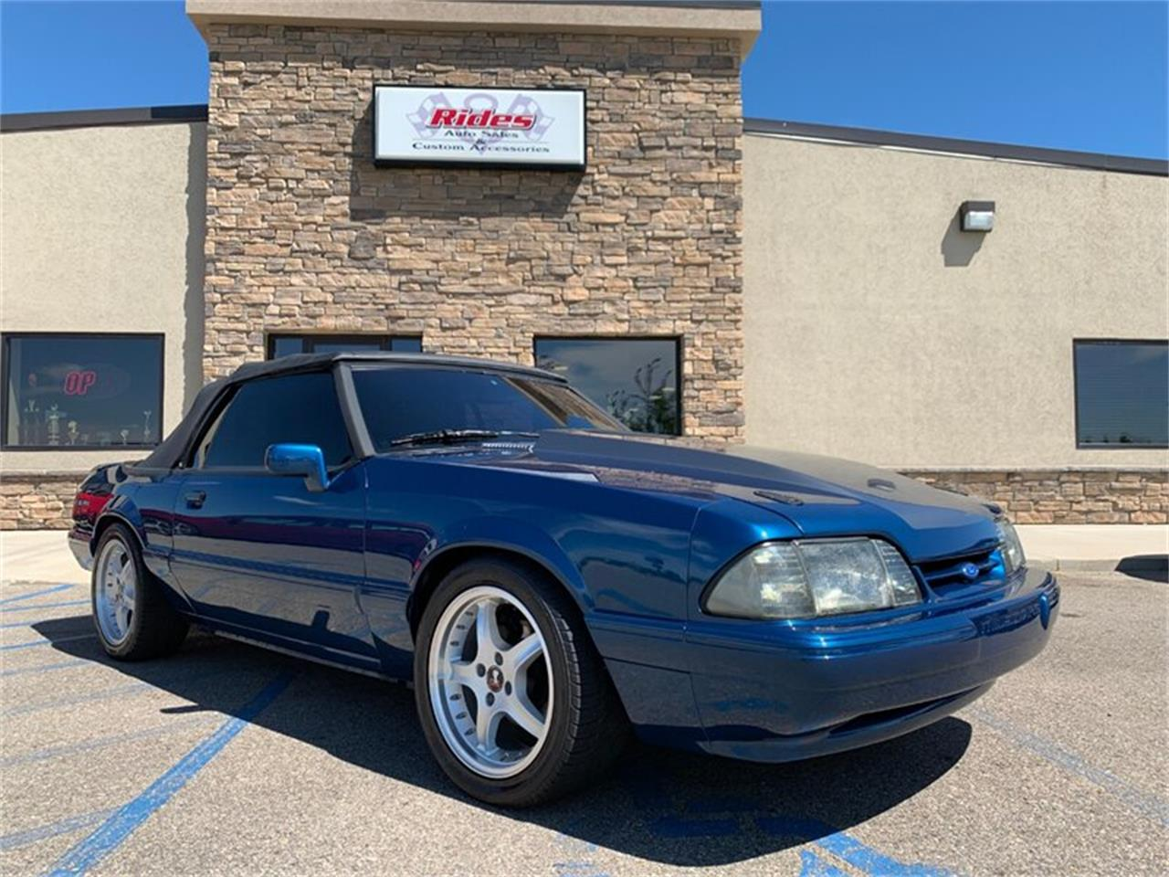 Large Picture of '92 Mustang - QJXN