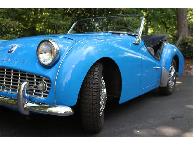 Picture of Classic 1960 Triumph TR3A Auction Vehicle Offered by  - QDRL