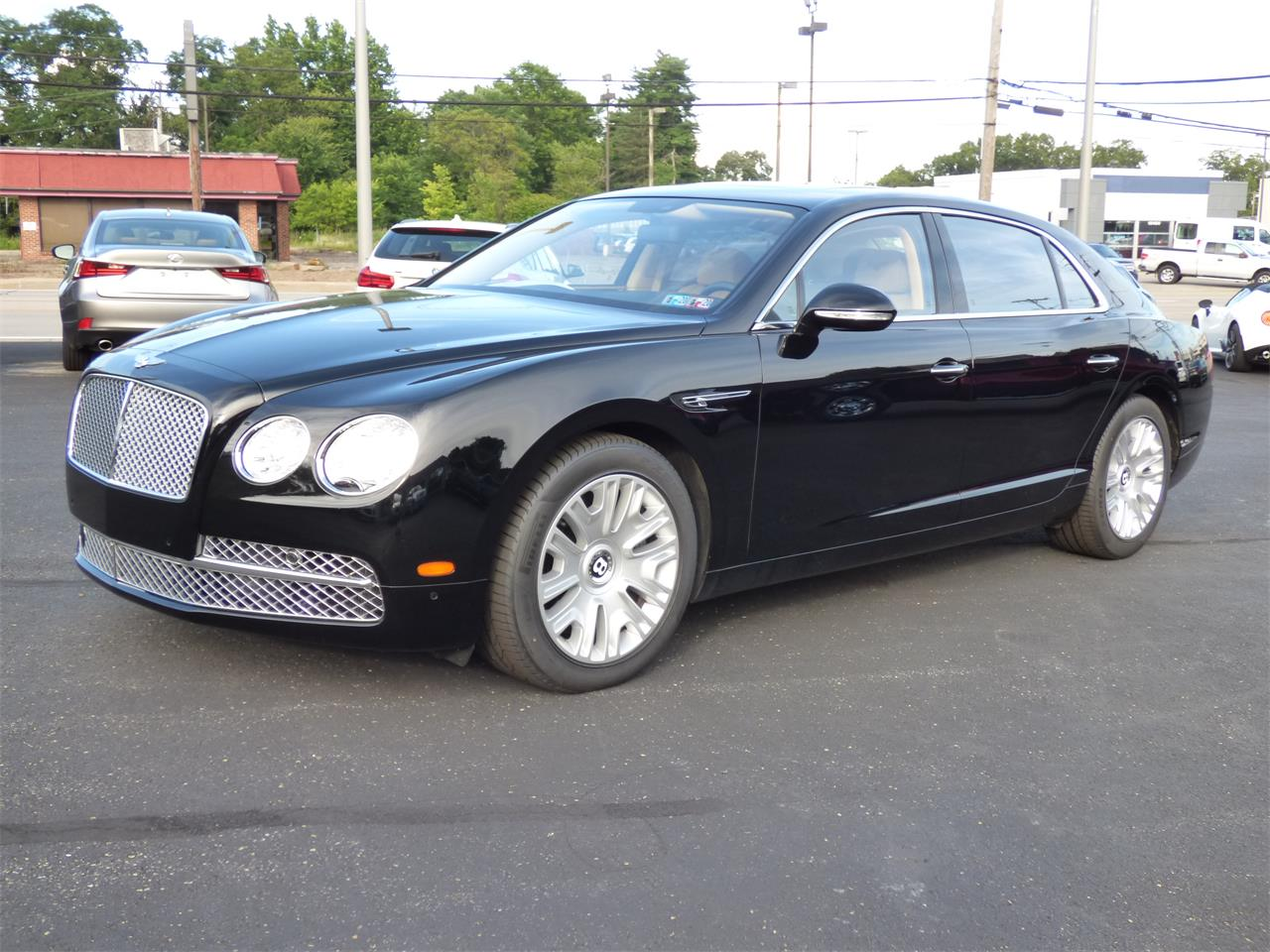 Large Picture of '14 Flying Spur - QK01