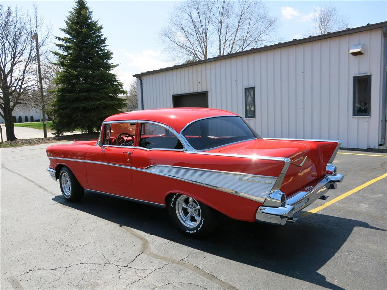 Large Picture of Classic '57 Bel Air located in Manitowoc Wisconsin Offered by Diversion Motors - QK0E