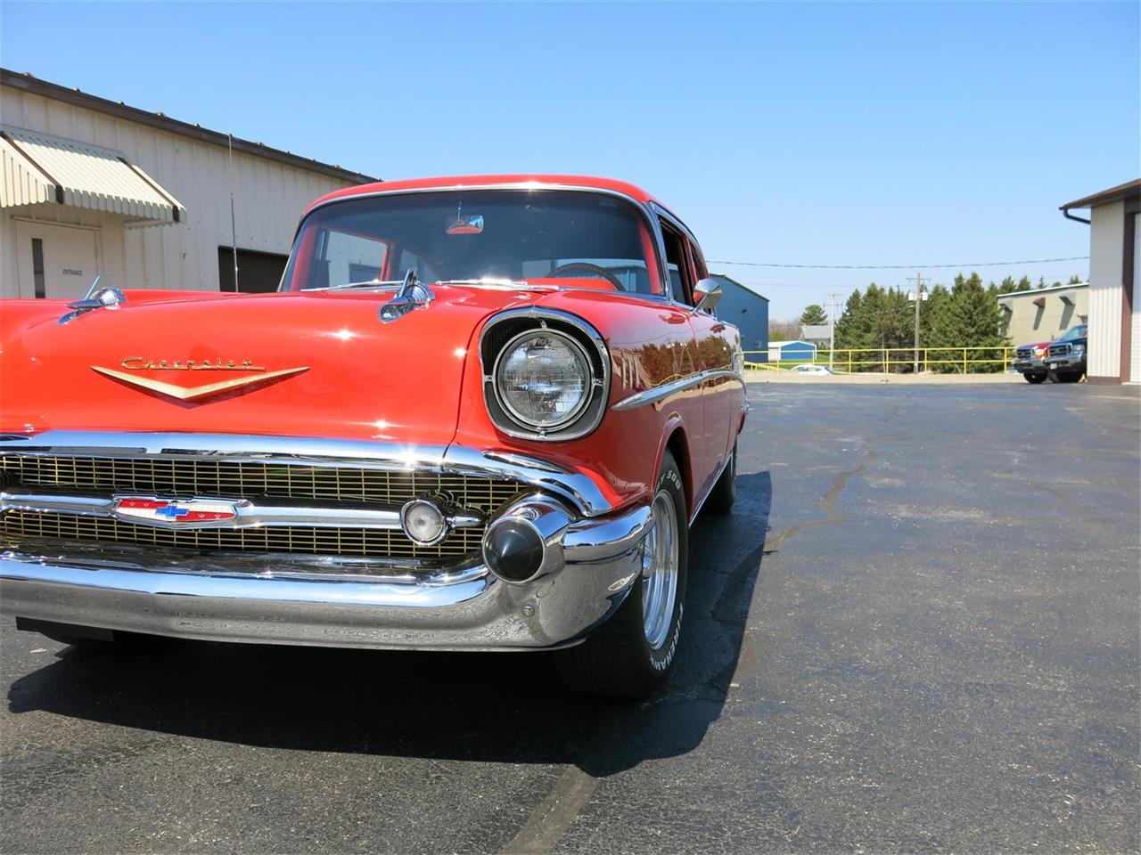Large Picture of 1957 Chevrolet Bel Air located in Wisconsin - QK0E