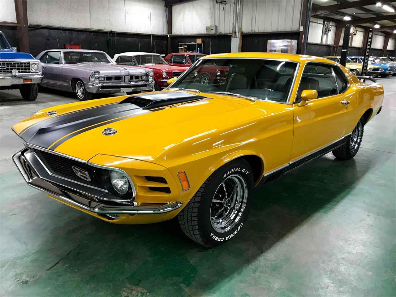 Large Picture of 1970 Ford Mustang Mach 1 located in Texas Offered by PC Investments - QK0Z