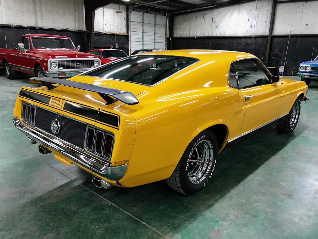 Large Picture of Classic 1970 Ford Mustang Mach 1 - QK0Z