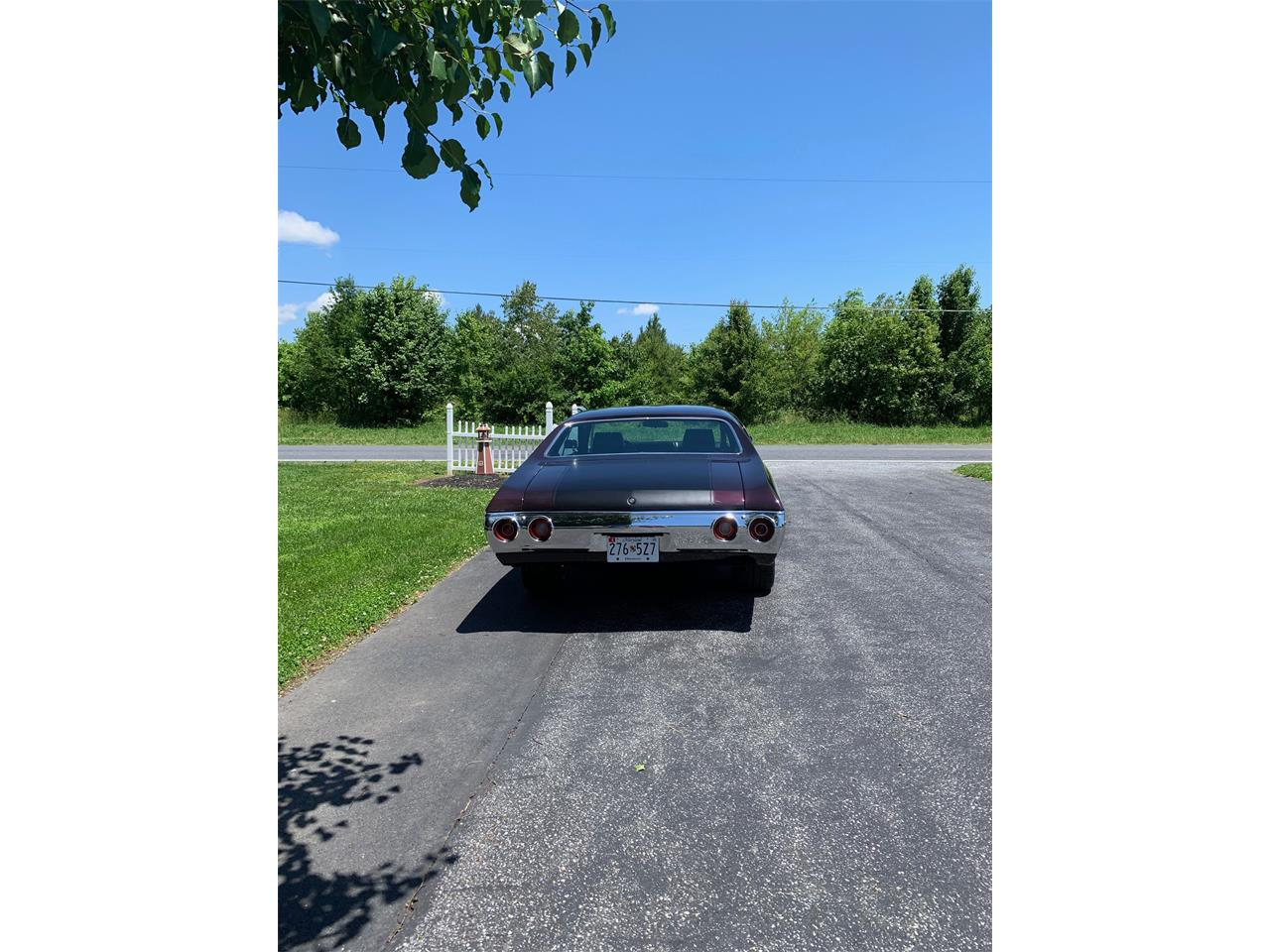 Large Picture of Classic '72 Chevrolet Chevelle Malibu located in Ridgely Maryland - $27,500.00 Offered by a Private Seller - QK1N