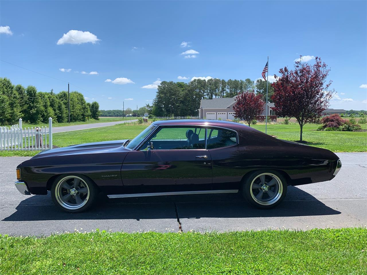 Large Picture of '72 Chevrolet Chevelle Malibu located in Maryland - QK1N