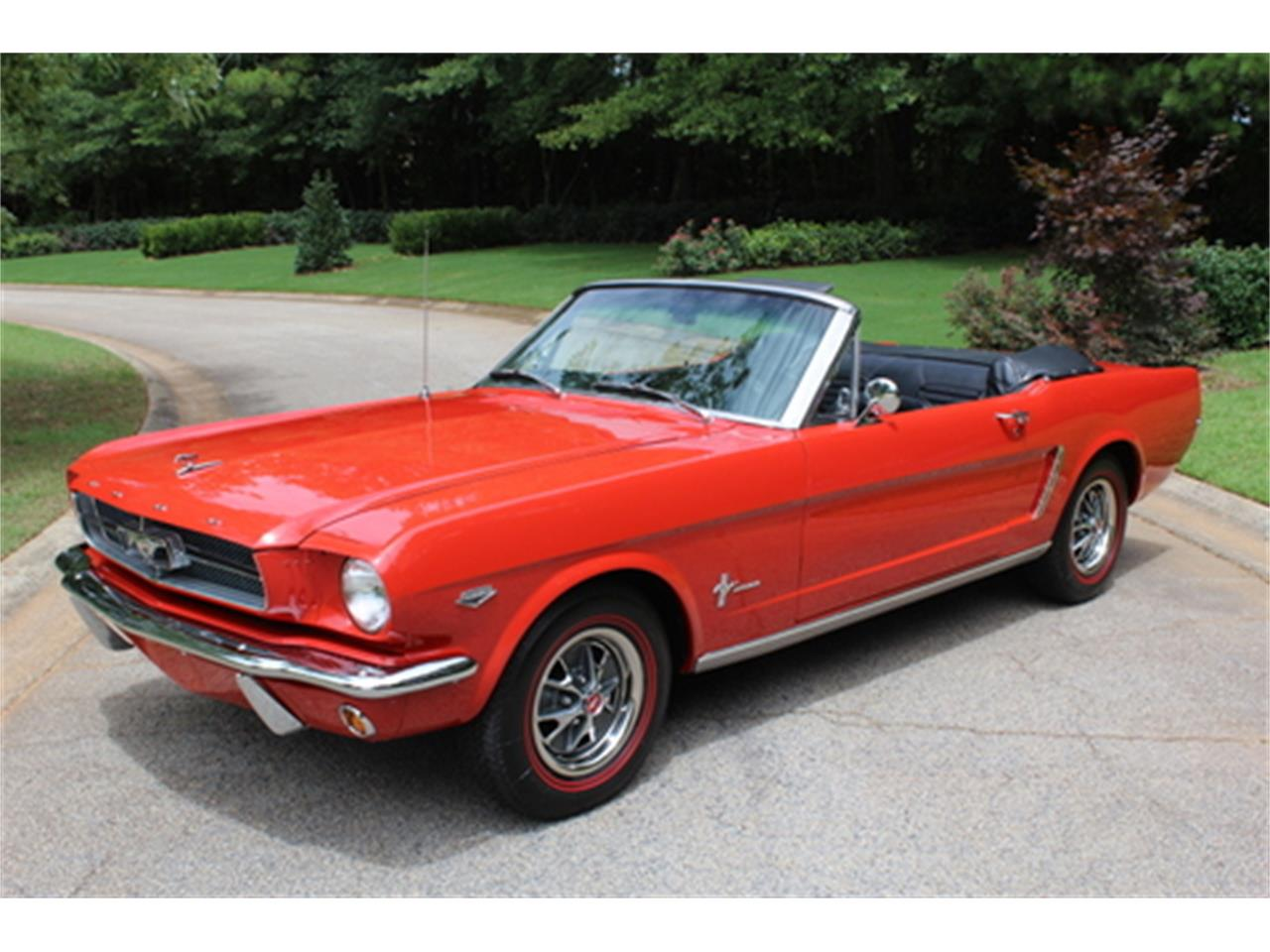 Large Picture of '65 Mustang - QK8I
