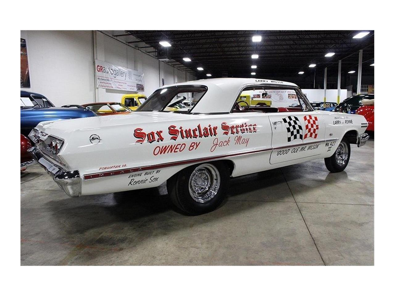 Large Picture of '63 Chevrolet Impala - $360,000.00 - QK96