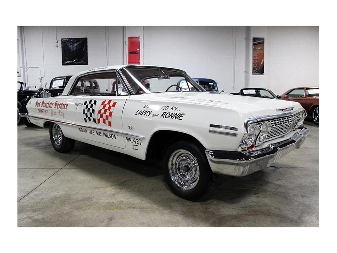Large Picture of Classic 1963 Chevrolet Impala located in Michigan - $360,000.00 - QK96