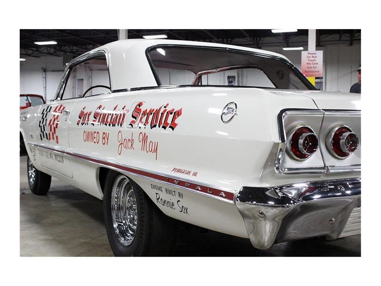 Large Picture of '63 Chevrolet Impala located in Michigan - $360,000.00 - QK96