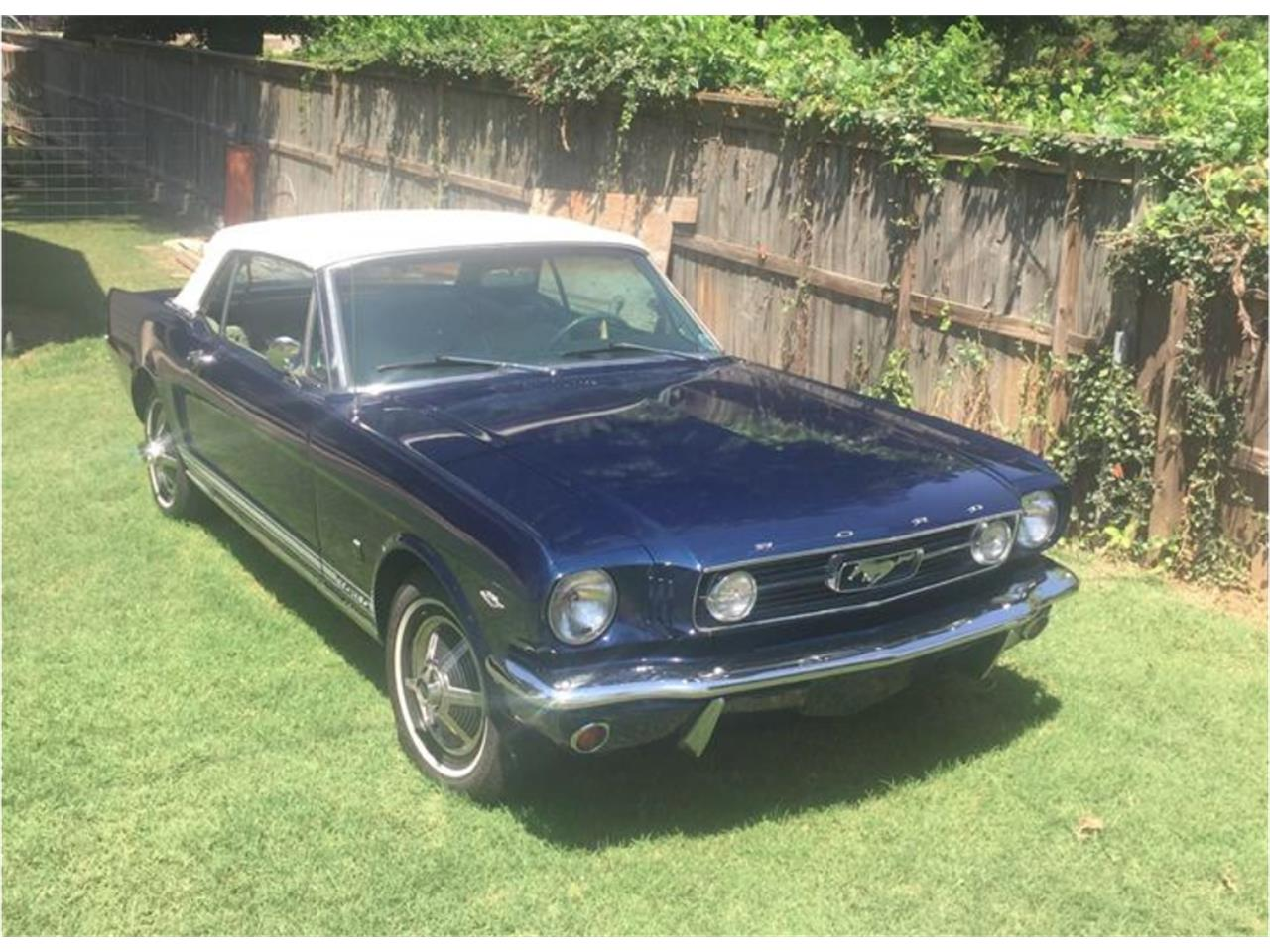 Large Picture of '66 Mustang - QK9J
