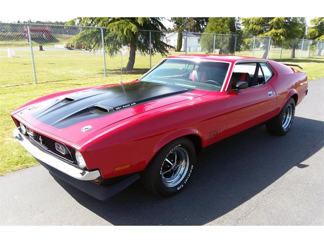 Picture of '71 Mustang Mach 1 - QKCZ