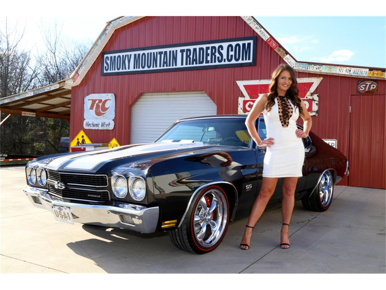 Large Picture of '70 Chevrolet Chevelle located in Lenoir City Tennessee - $63,995.00 Offered by Smoky Mountain Traders - QKD7