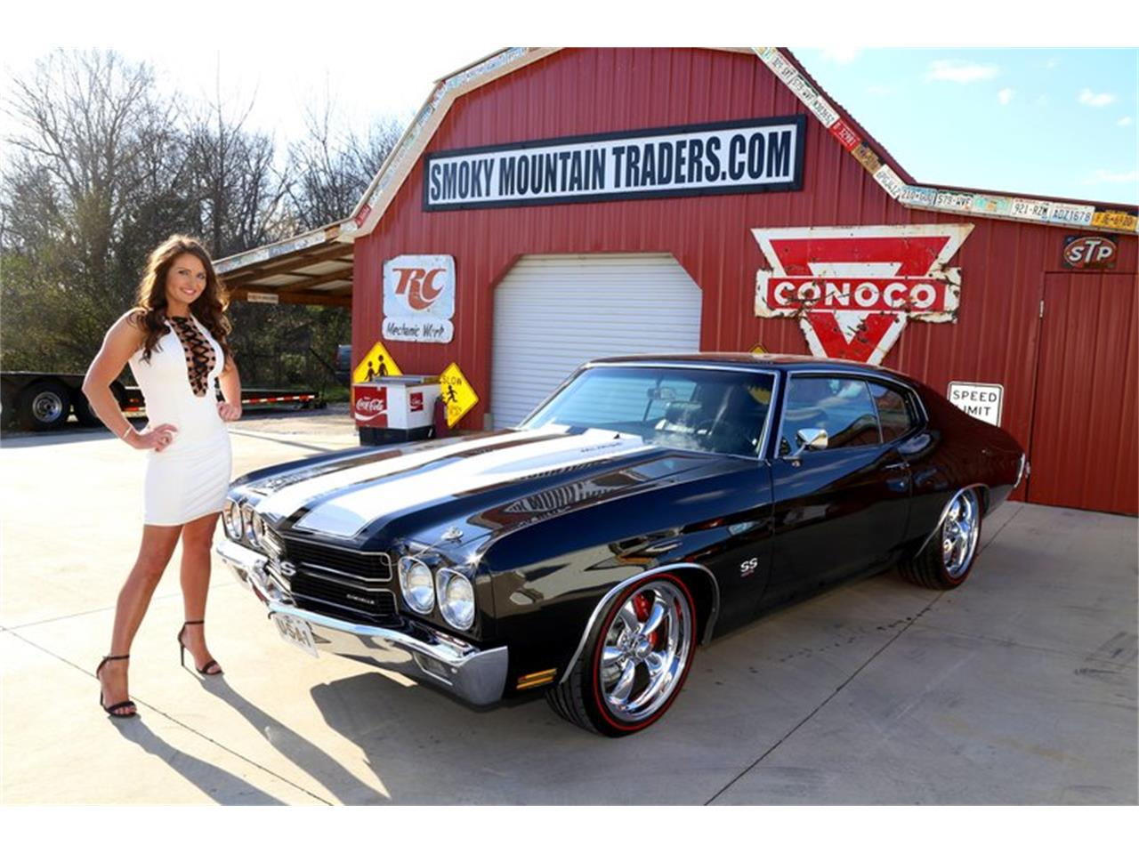 Large Picture of 1970 Chevelle Offered by Smoky Mountain Traders - QKD7