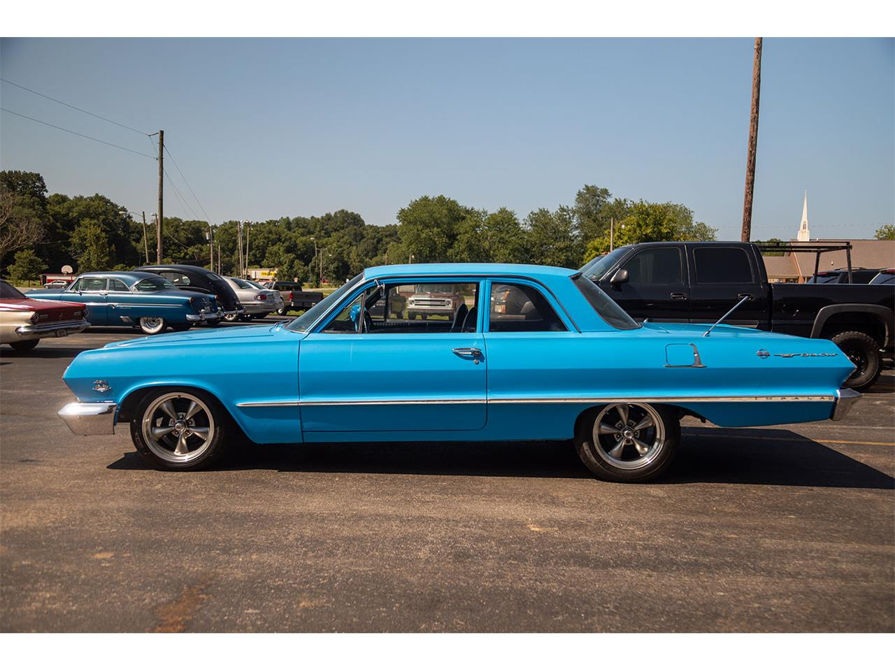 Large Picture of Classic 1963 Bel Air located in Illinois Offered by Curt's Classics LLC - QKH1