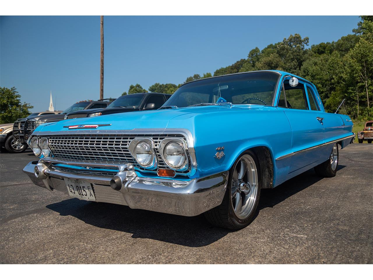 Large Picture of '63 Chevrolet Bel Air located in Dongola Illinois Offered by Curt's Classics LLC - QKH1