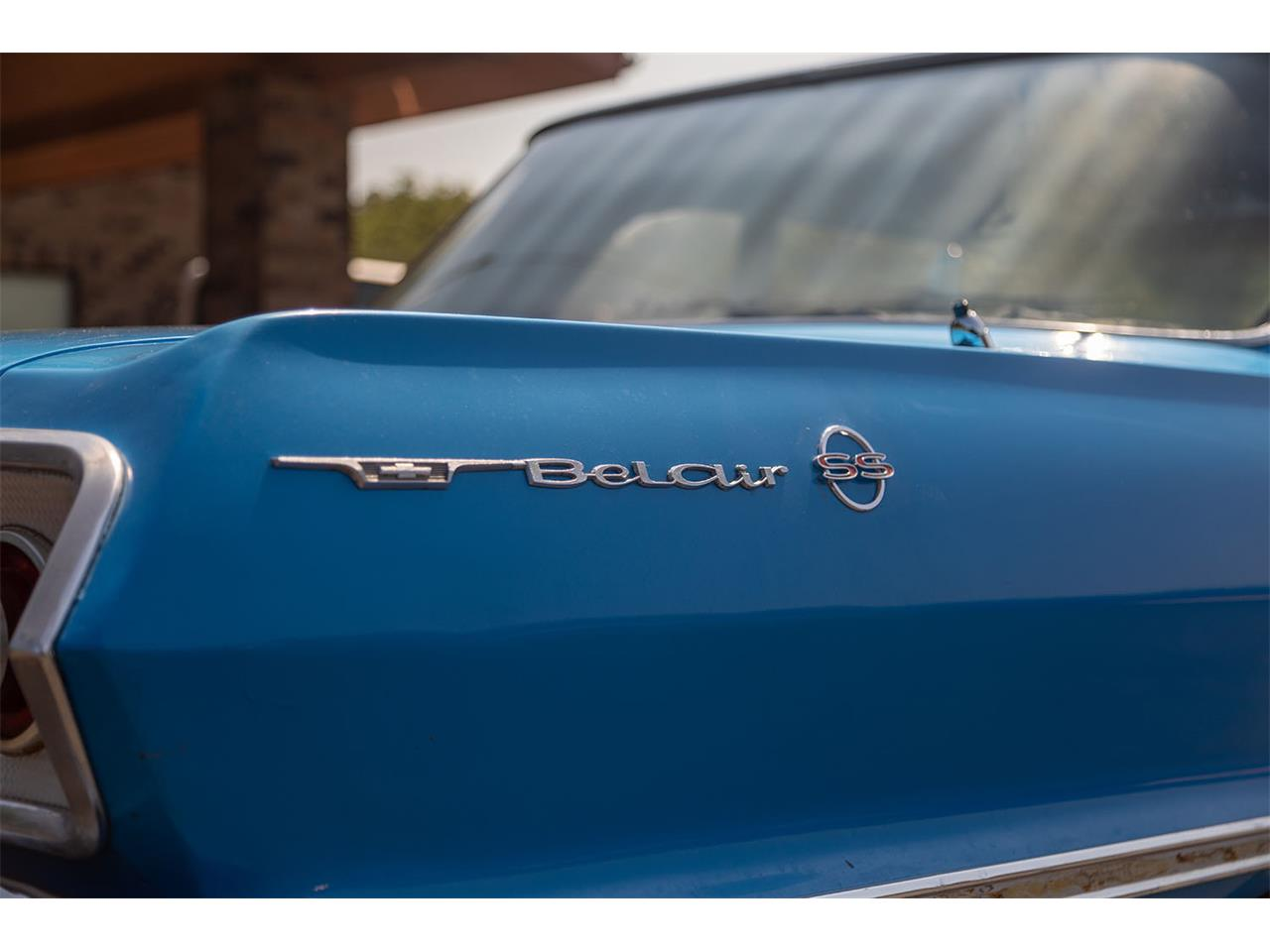 Large Picture of Classic '63 Chevrolet Bel Air located in Dongola Illinois - $12,500.00 Offered by Curt's Classics LLC - QKH1