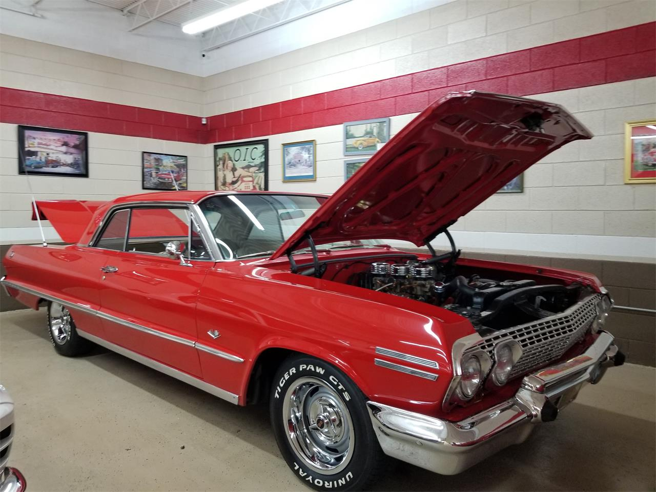 Large Picture of '63 Chevrolet Impala located in North Carolina - $51,000.00 - QKKB