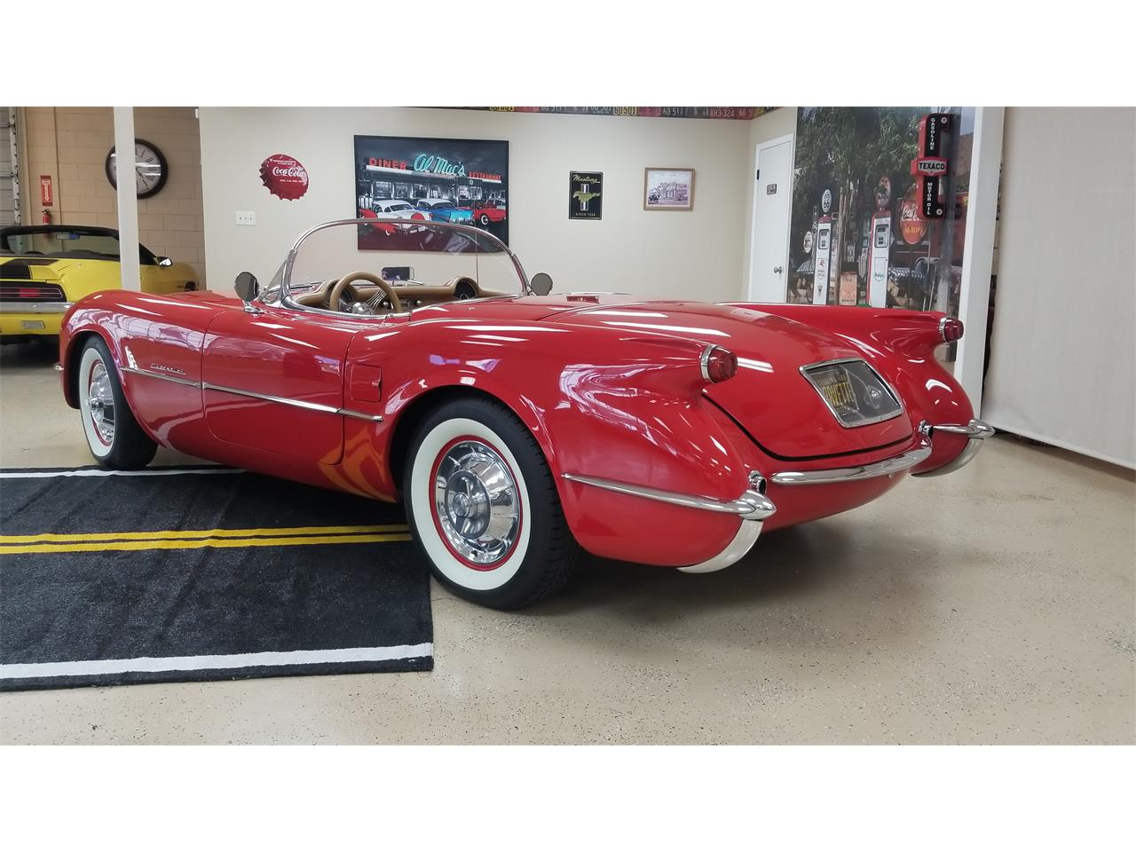 Large Picture of Classic 1955 Chevrolet Corvette located in Henderson North Carolina - QKKE