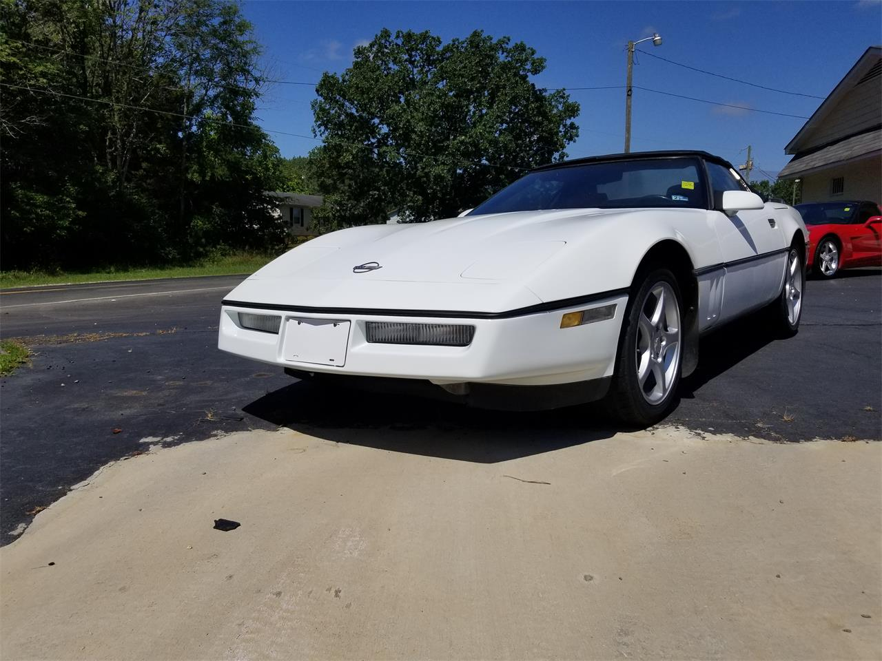 Large Picture of 1990 Corvette located in Henderson North Carolina - $8,500.00 Offered by Southern Classic Car - QKKM