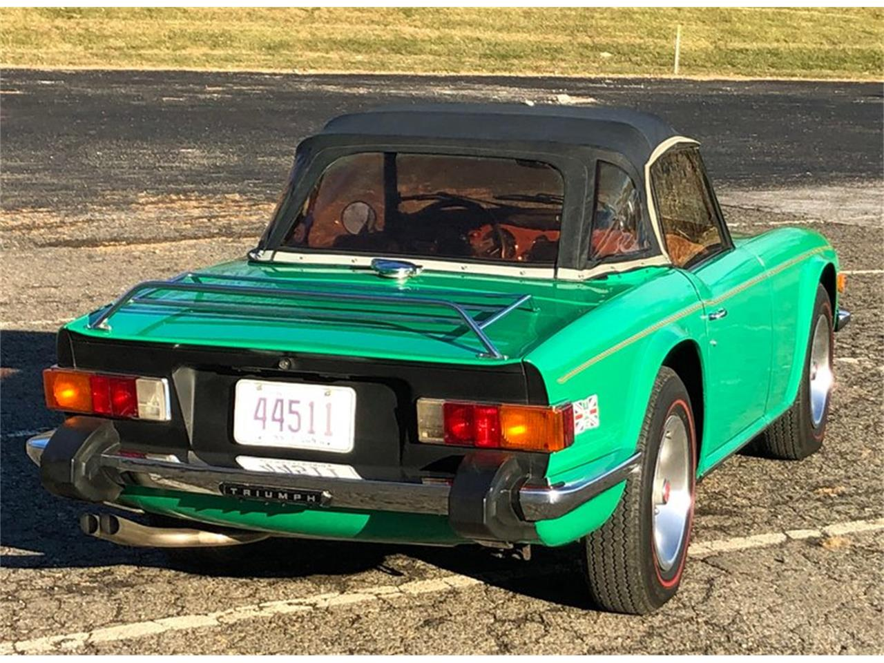 Large Picture of '76 TR6 - QDU4