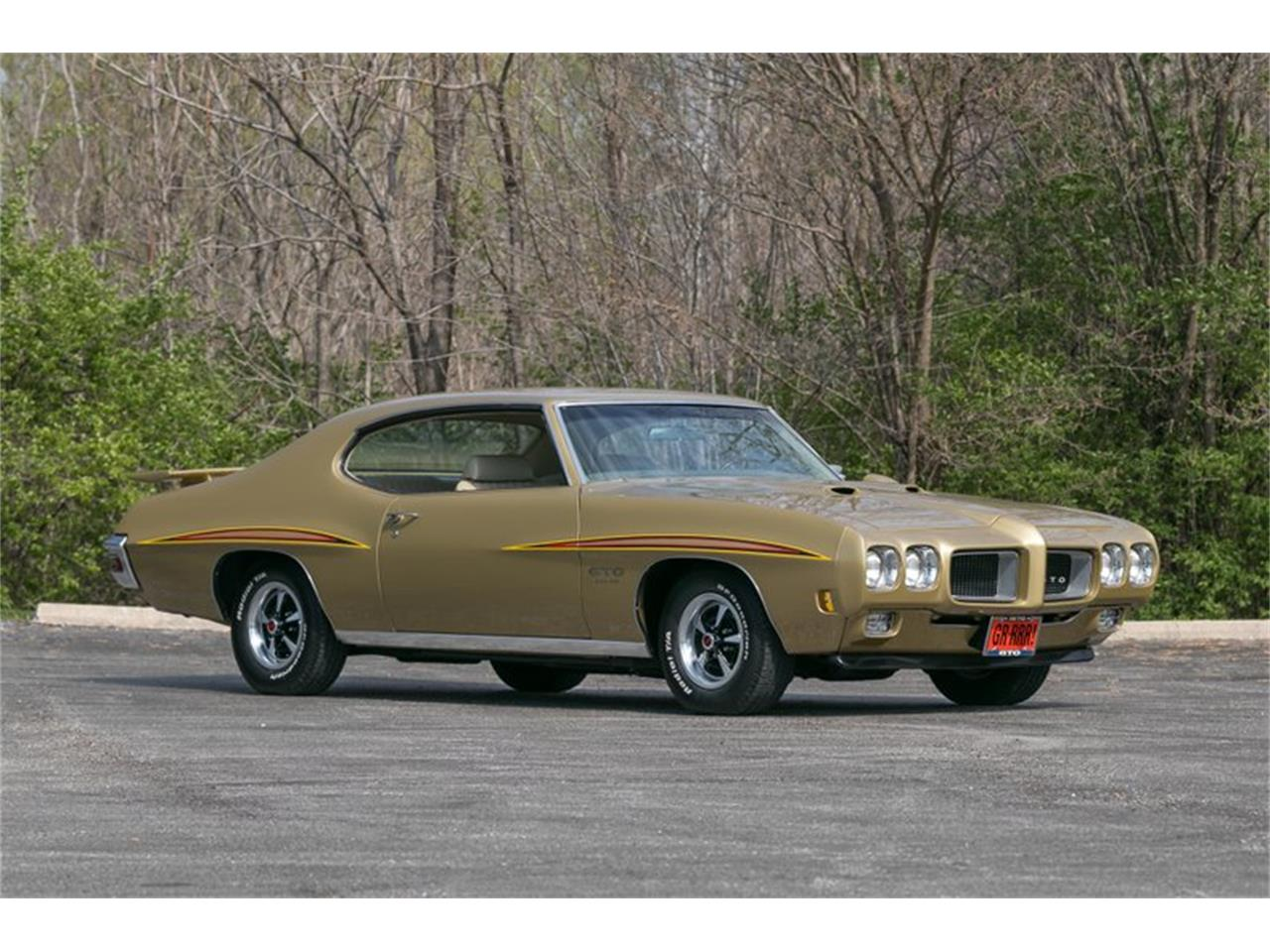 Large Picture of Classic 1970 Pontiac GTO located in St. Charles Missouri - $59,995.00 - QKPX