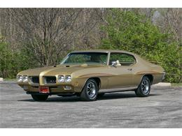 Picture of Classic 1970 Pontiac GTO located in St. Charles Missouri - $59,995.00 Offered by Fast Lane Classic Cars Inc. - QKPX