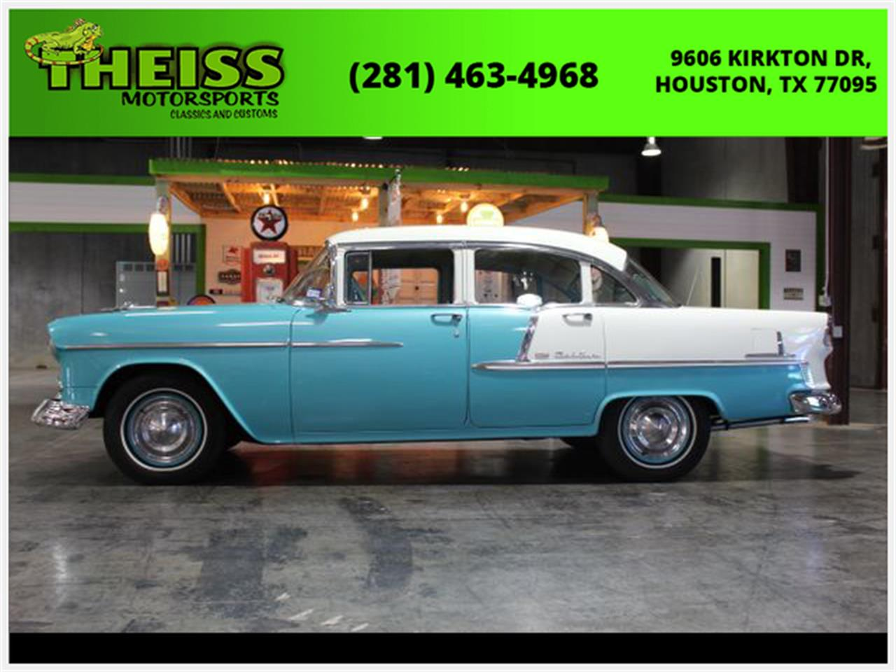 Large Picture of Classic '55 Bel Air located in Houston Texas - QKVL