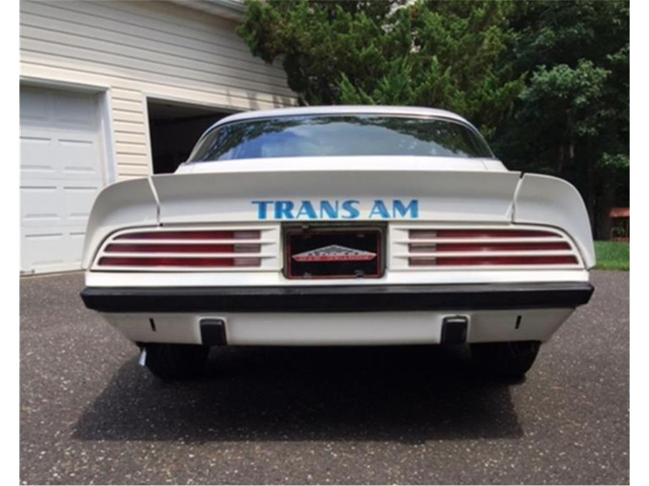 Large Picture of '75 Pontiac Firebird Trans Am located in Franklinville New Jersey Offered by a Private Seller - QKWB