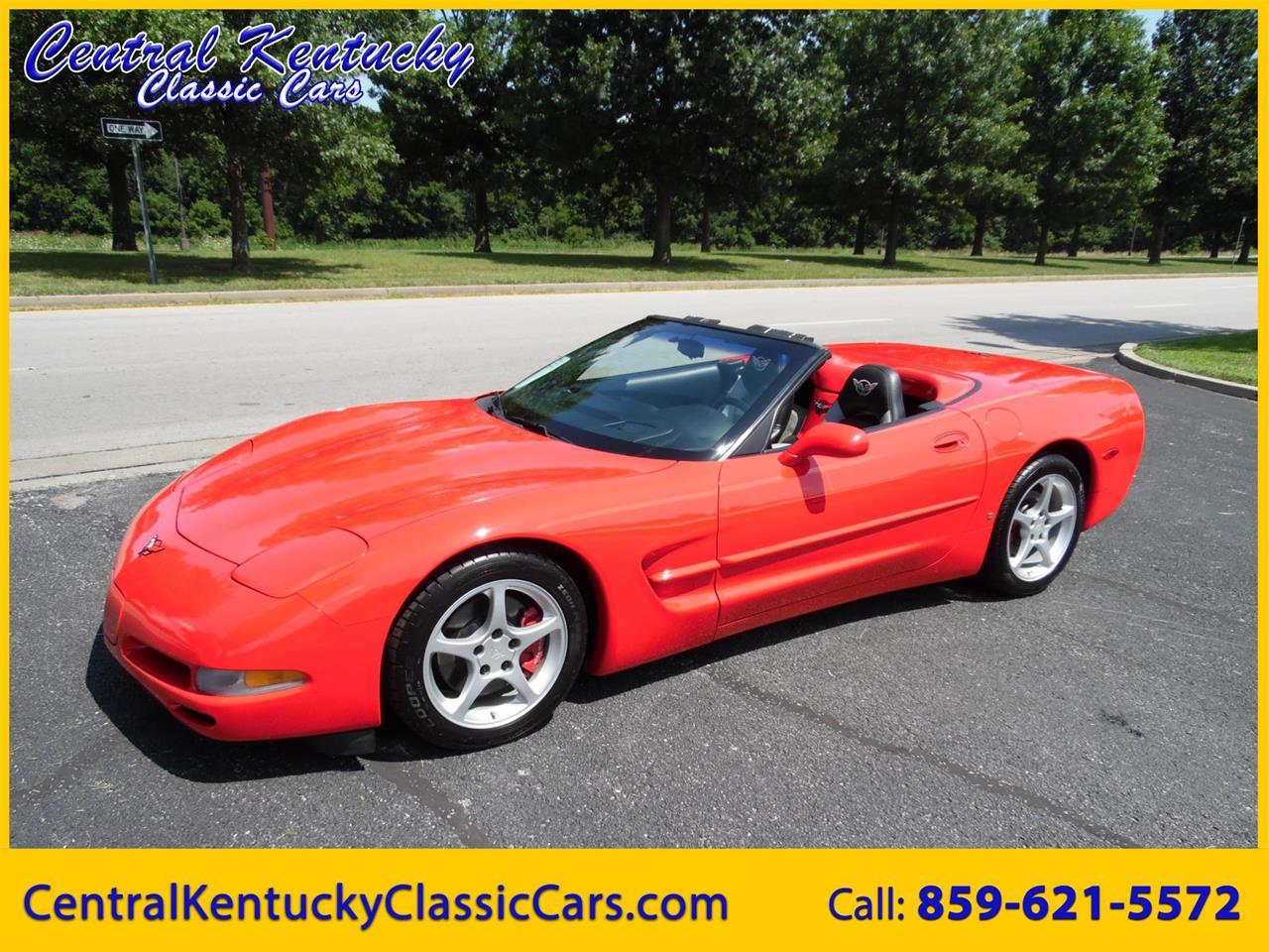 1999 Corvette For Sale >> For Sale 1999 Chevrolet Corvette In Paris Kentucky