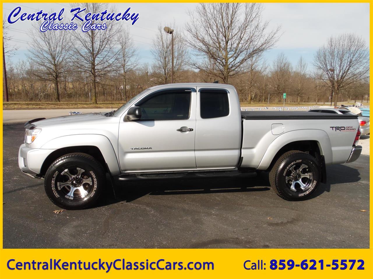 2012 Toyota Tacoma For Sale >> For Sale 2012 Toyota Tacoma In Paris Kentucky