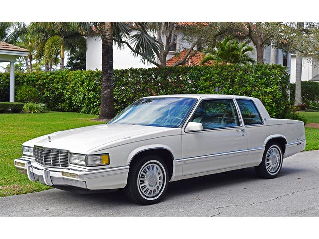 Picture of 1991 Cadillac Coupe DeVille located in West Palm Beach Florida Offered by a Private Seller - QLWQ