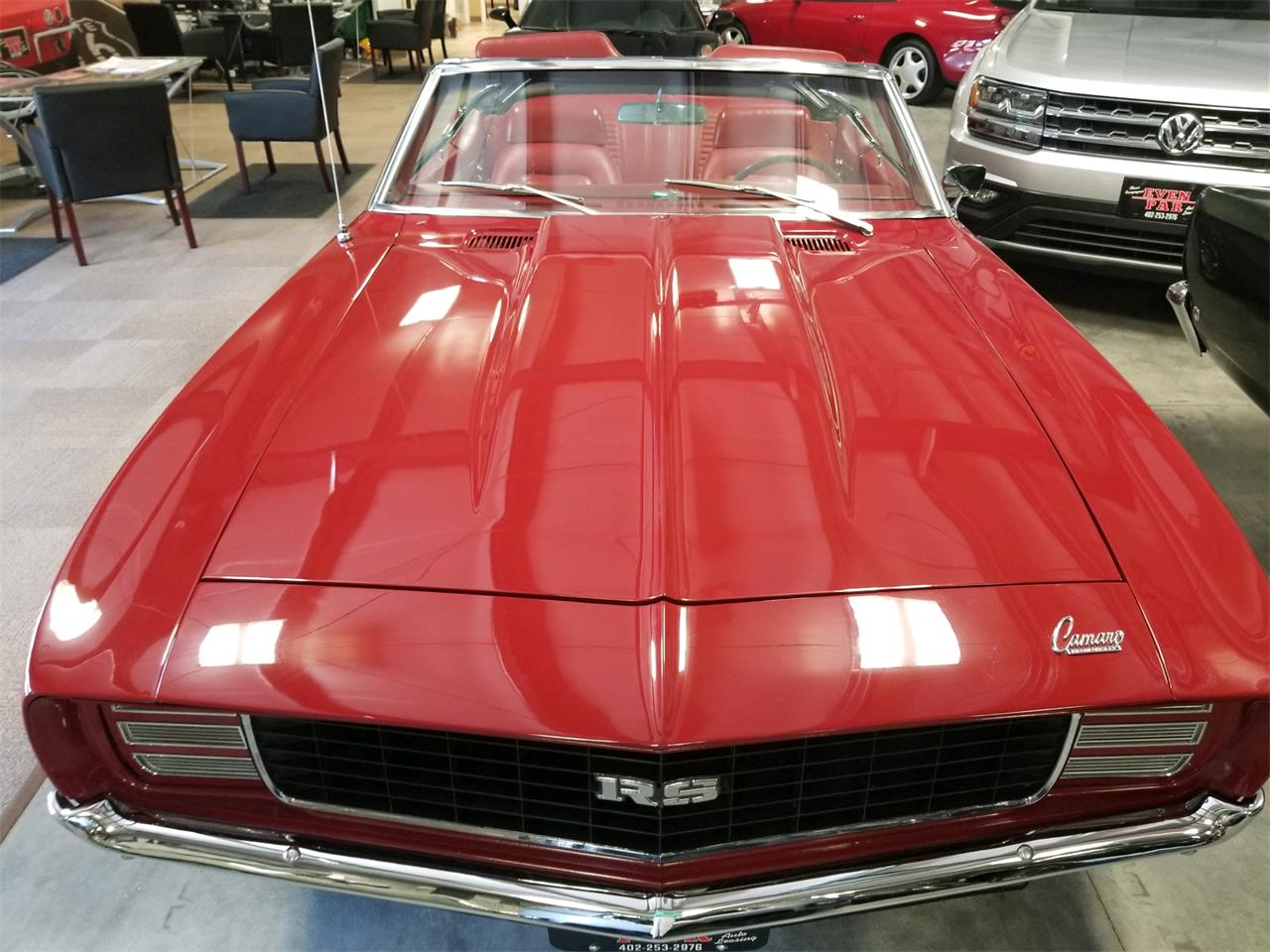 Large Picture of Classic 1969 Chevrolet Camaro RS located in Springfield Nebraska Offered by a Private Seller - QLXI