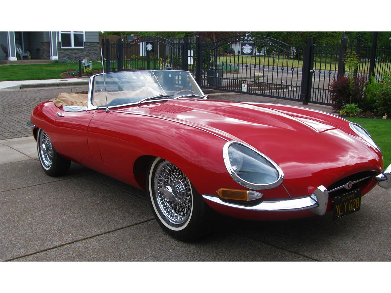 Large Picture of '67 E-Type - QKWQ