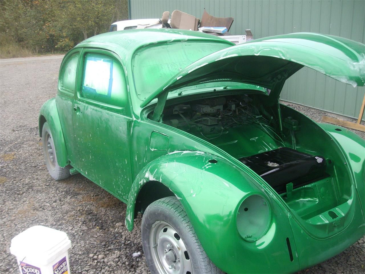 Large Picture of 1969 Volkswagen Beetle located in Toledo Washington Offered by a Private Seller - QLZV