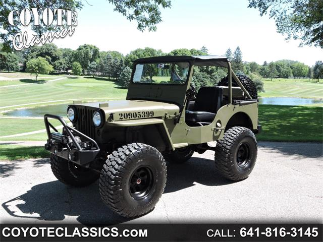 Picture of Classic '52 Jeep Willys located in Iowa Offered by  - QM4X