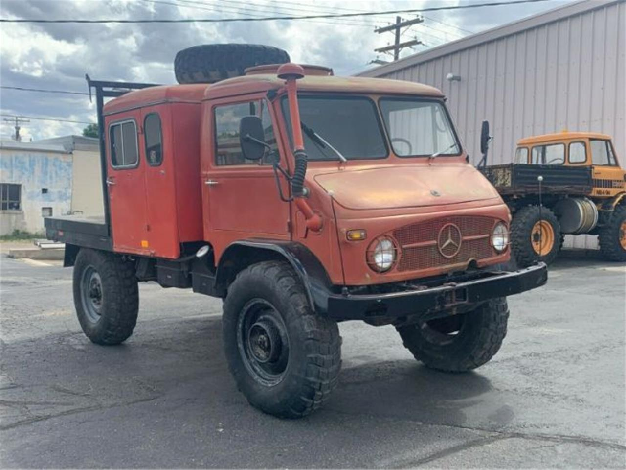 Unimog For Sale Usa >> For Sale 1965 Mercedes Benz Unimog In Cadillac Michigan