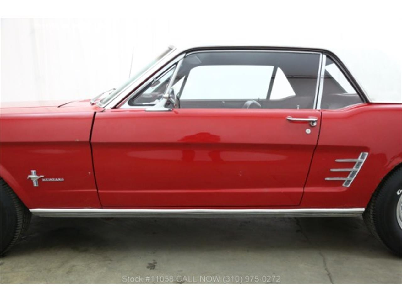Large Picture of '66 Ford Mustang located in Beverly Hills California Offered by Beverly Hills Car Club - QKXT
