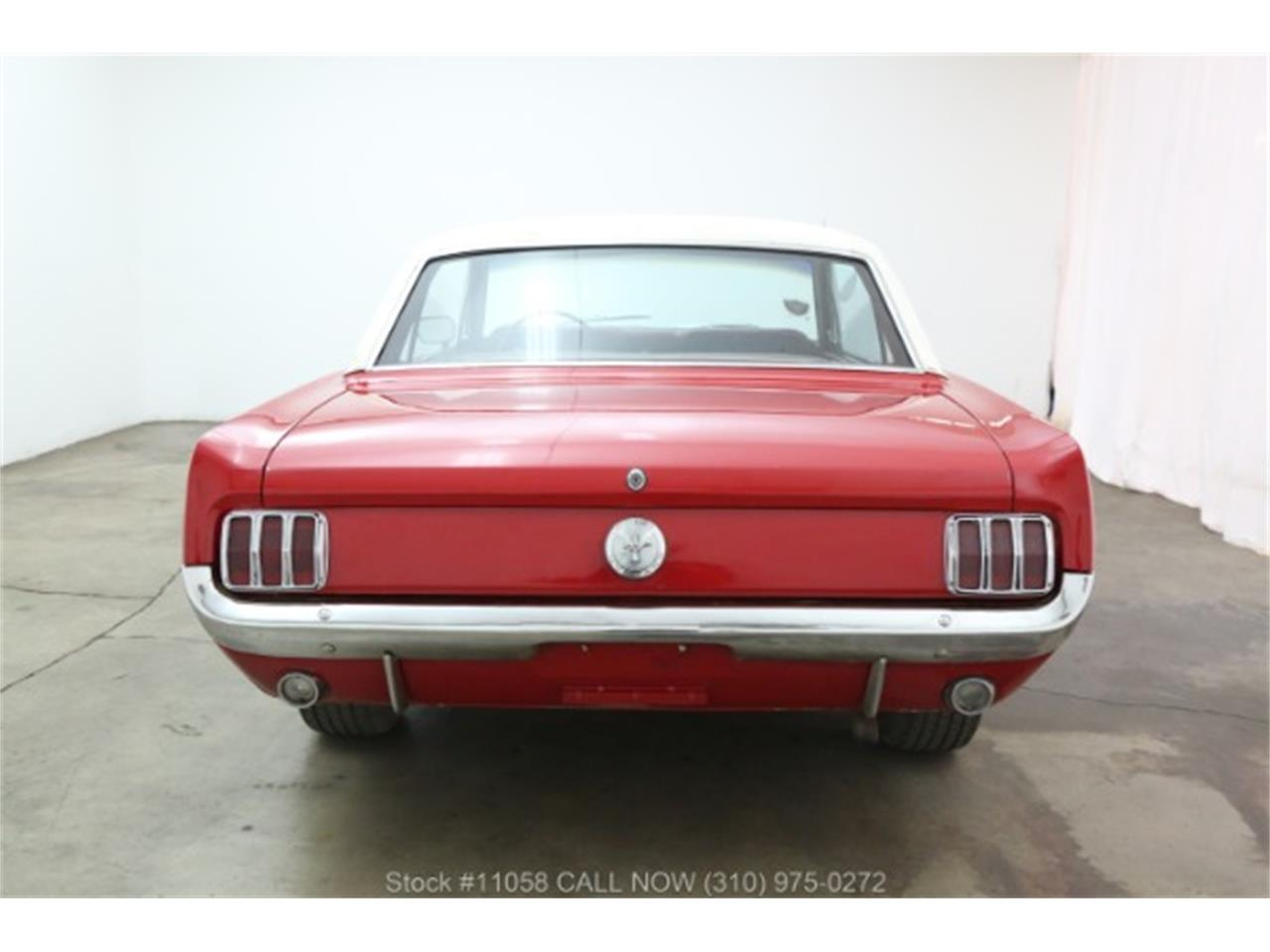 Large Picture of Classic '66 Mustang located in Beverly Hills California - $10,750.00 Offered by Beverly Hills Car Club - QKXT