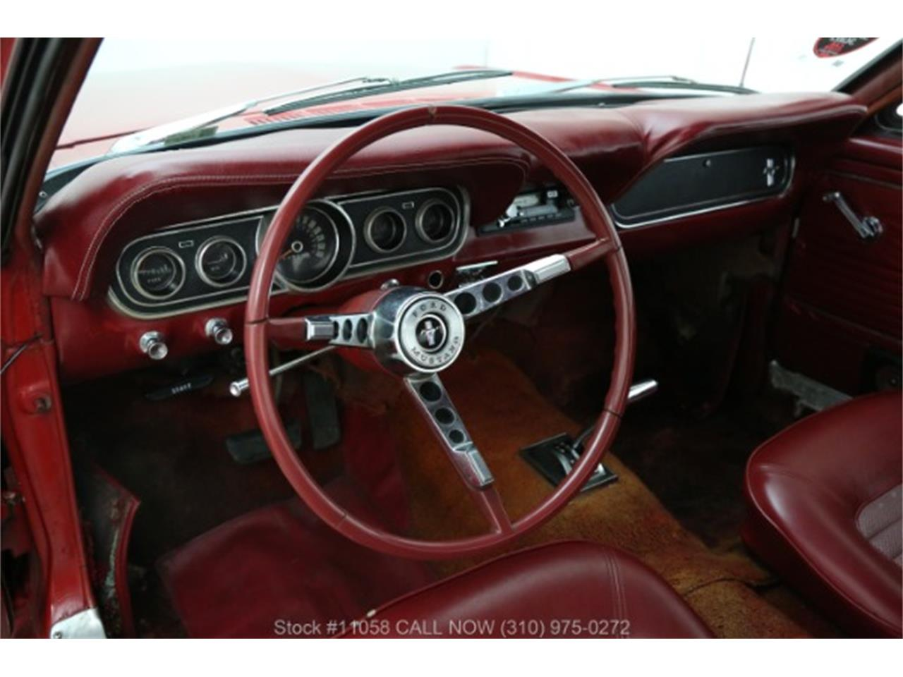 Large Picture of Classic '66 Mustang located in California Offered by Beverly Hills Car Club - QKXT