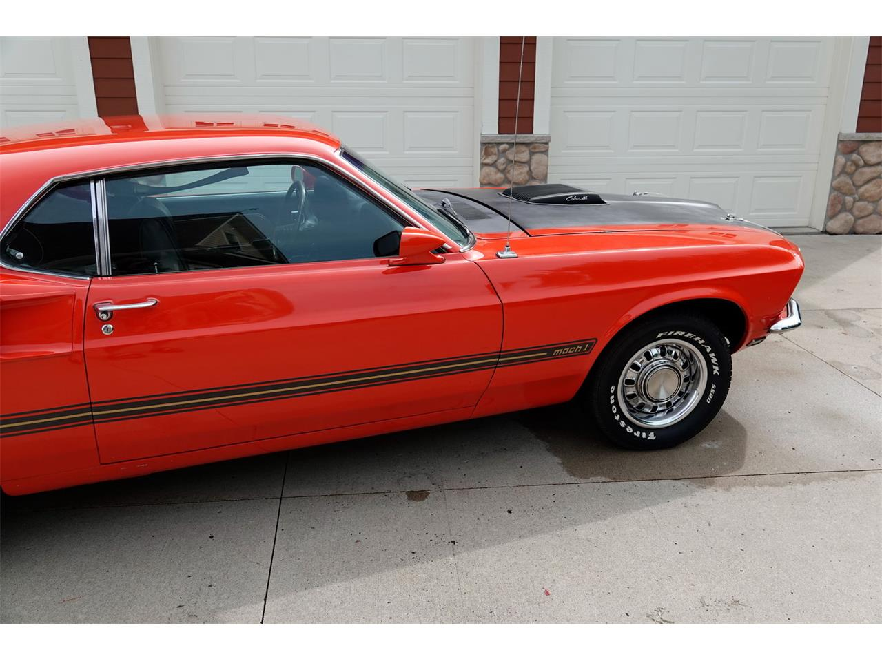 Large Picture of '69 Mustang Mach 1 - QMA4