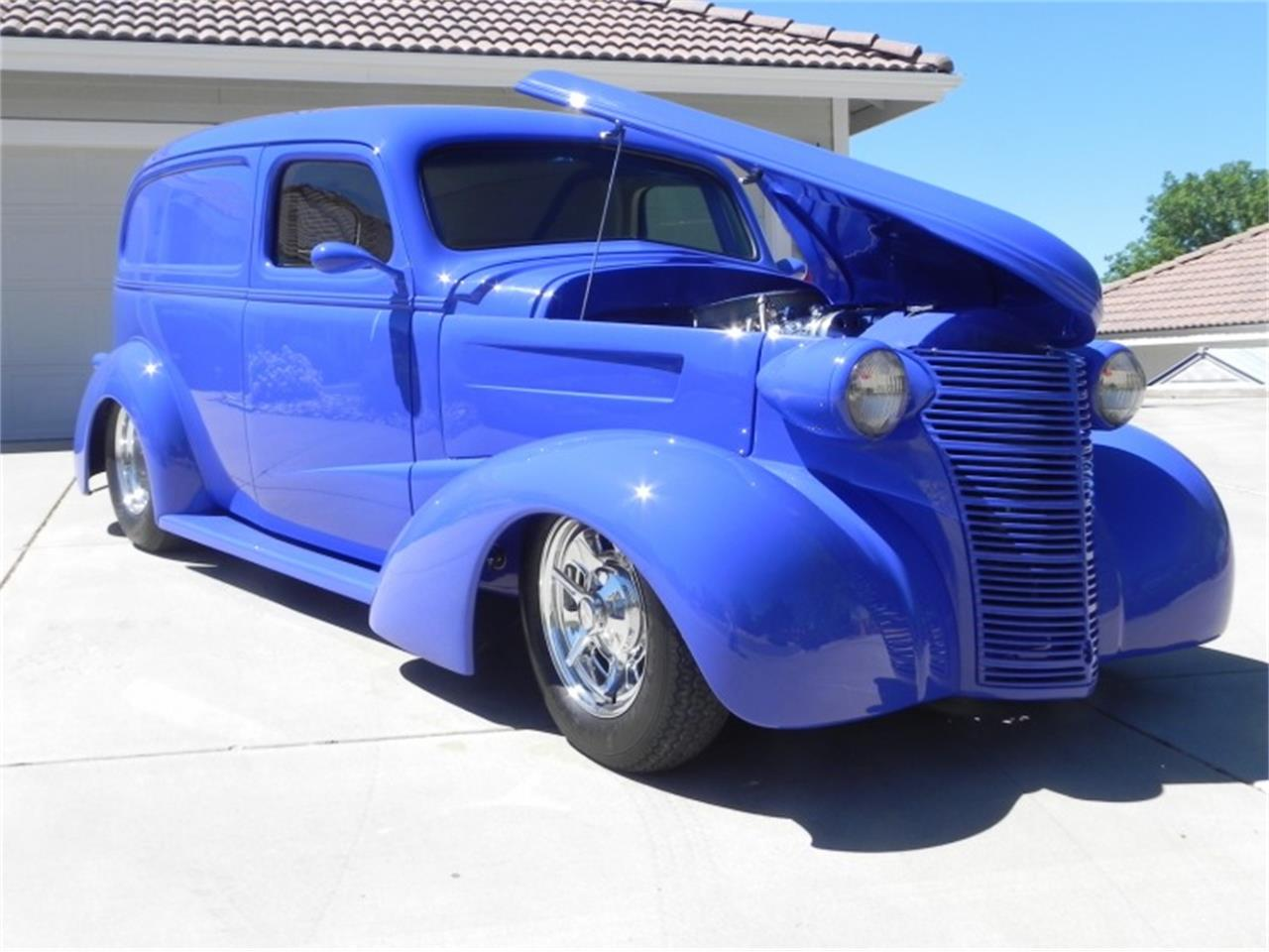 Large Picture of '38 Sedan located in Sparks Nevada Auction Vehicle Offered by Motorsport Auction Group - QMBQ