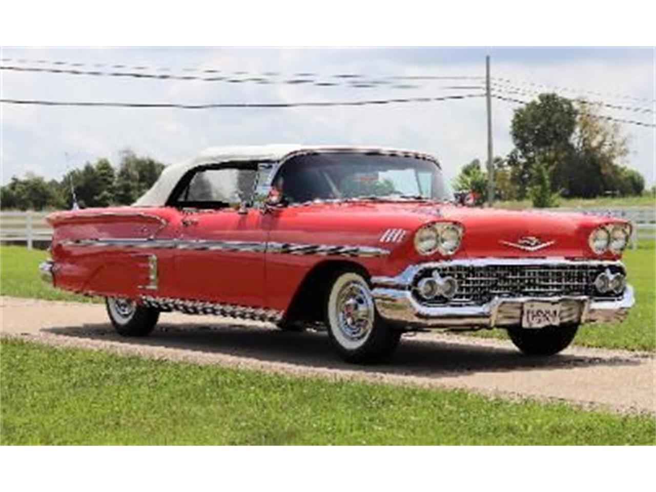 Large Picture of '58 Impala - QMOX