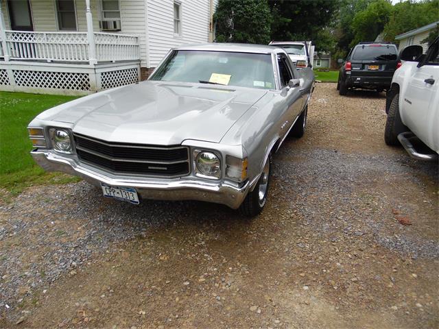 1971 Chevrolet El Camino for Sale on ClassicCars com on ClassicCars com