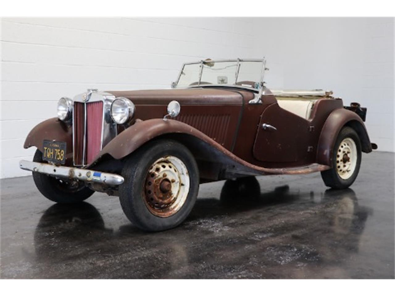 Large Picture of Classic 1954 MG TD - $8,950.00 Offered by Gullwing Motor Cars - QKZF