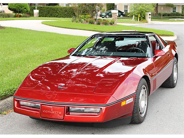 Picture of '86 Chevrolet Corvette located in Lakeland Florida - $24,500.00 Offered by  - QMQZ